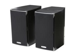 Polk Audio RTi A1 Black High Performance Bookshelf Speaker Pair, 5.25 -inch driver and a 1-inch dome tweeter