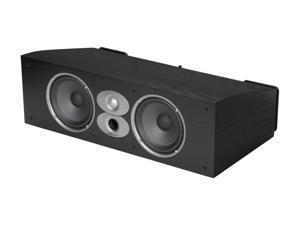 Polk Audio CSI A6-Black High Performance Center Speaker Single, Dual 6.5 inch Drivers and a 1-inch dome tweeter
