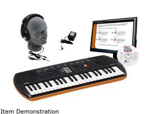 CASIO SA-76 Mini Personal Keyboard Educational Package