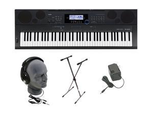 CASIO WK-6500 76-key Keyboard Premium Package