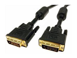 CABLES UNLIMITED PCM-2285-10 Black 10 feet M-M DVI-D Dual Link Cable