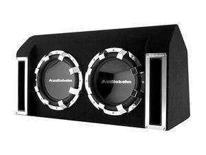 "AUDIOBAHN ABB122J Dual 12"" 1760W Enclosed Subwoofer"
