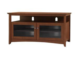 "BUSH FURNITURE myspace Series MY13646A-03 Up to 47"" Serene Cherry Easy Buena Vista TV Stand"