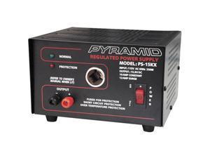 PYRAMID PS15KX 10 Amp Power Supply w/Cigarette Lighter Plug
