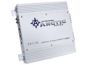 Pyramid 1000W 2 Channels Bridgeable Bridgeable MOSFET Amplifier