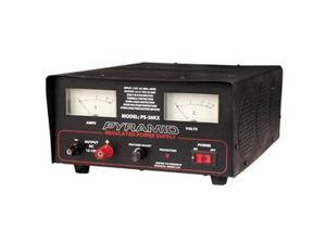 Pyramid 32 Amp Adjustable Power Supply with Ammeter and Voltmeter