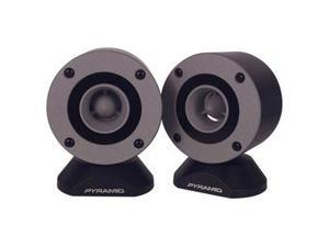 PYRAMID 300 Watts Peak Power Aluminum Bullet Horn in Enclosure w/Swivel Housing