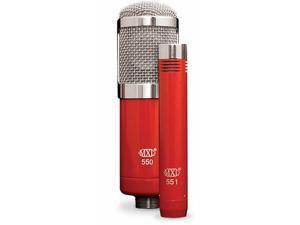 MXL 550/551R Microphone Ensemble - Red
