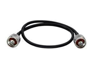 """Premiertek PT-NM-NM-05 20"""" Low Loss N Male to N Male RG58/U Coaxial Cable M-M"""