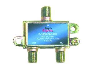 Eagle Aspen P-1000-2AP-GX 2-Way 5-1000 MHz Splitter