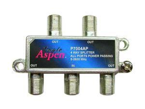 Eagle Aspen P7004AP 4-Way 2600 Mhz Splitter (all Port Passing)