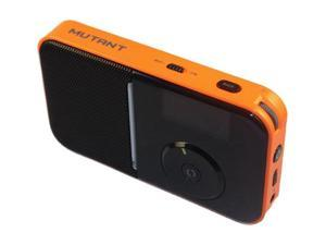 Mutant M-Wavio MIG-PIR-5  Pocket Size Internet/FM Radio, Tangerine