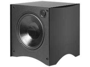 "Atlantic Technology 444SBBLK 12"" Powered Subwoofer, 325-Wat, Black Single"