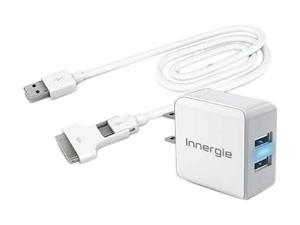 Innergie ADP-15AC AA White Duo USB Charging Kit