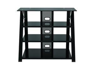"Z-Line ZL583-36SU Up to 50"" Black Cruise Highboy TV Stand"