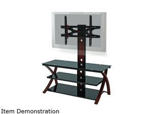 "Z-Line ZL434-50MxviiU Up to 60"" Cherry Makena Flat Panel 3 in 1 Television Mount System"