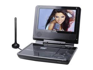 Envizen Digital ED8850B Duo Box Pro 7-Inch Handheld Digital TV/DVD Player