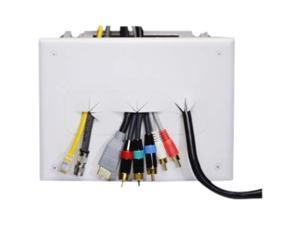 DataComm 45-0010-WH Recessed Media Box