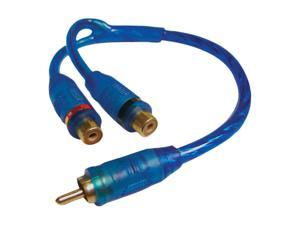 DB Link CLY2FZ Triple Shielded RCA Y-Adapter (2 Female / 1 Male)