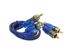db Link Model JL1.5Z 1.5 Feet Jammin' Blue RCA Cable