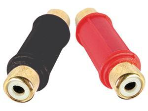 DB Link BF103 Gold Female Barrel Connector (1 Red, 1 Black)