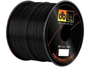 DB Link RW18BK500Z Wire Spool + Remote/Primary Wire - 500 Ft - Black
