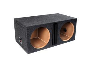 "Atrend E12DV Dual B Box Series Vented Enclosure With Divided Chambers (12"")"