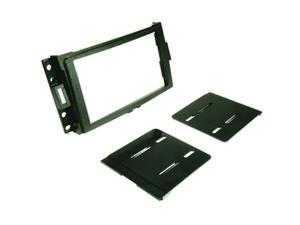 SCOSCHE GM1595B Hummer H3, 04-Up Chevrolet Corvette & 05-Up Uplander Double DIN ISO Kit