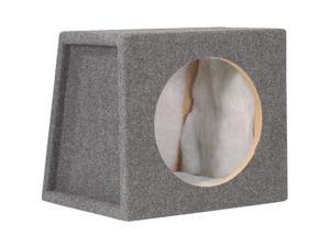 "Scosche SE10CC Single 10"" Sealed Subwoofer Enclosure (Charcoal)"