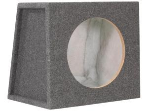 "Scosche SE12CC Single 12"" Sealed Subwoofer Enclosure (Charcoal)"