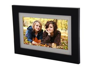 "ViewSonic 10.1"" digital photo frame, high 1024x600 resolution, 128MB, calendar/clock, auto on/off, LED backlight & remote control"