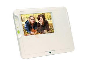 "AUDIOVOX DPF711K 7"" 7"" Digital Photo Frame and Audio/Video Homebase Message Center"