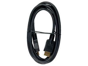 RCA VH6HHN 6 ft. Black HDMI Cable M-M