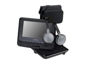 "AUDIOVOX DS7321PK 7"" Swivel Portable DVD Player Kit"