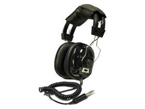 Bounty Hunter Black HEAD-W Metal Detector Binaural Headphone
