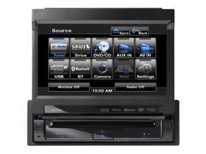 "CLARION VZ401 7"" Single-DIN In-Dash Multimedia Receiver with Bluetooth(R)"
