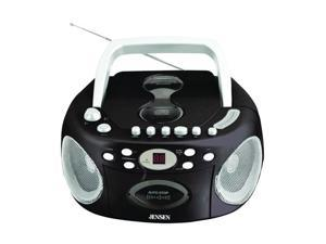 JENSEN CD-540 Portable Stereo CD Player with Cassette & AM/FM Radio