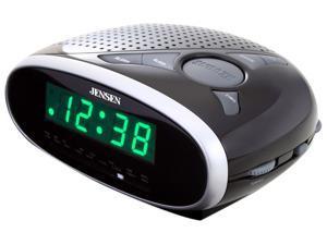 JENSEN AM/FM Dual Alarm Clock Radio JCR-175