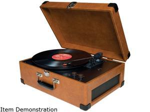 Crosley CR49-TA Traveler Turntable, Tan