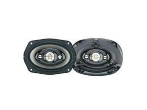 """Power Acoustik 6"""" x 9"""" 380 Watts Peak Power 4-Way Speakers"""