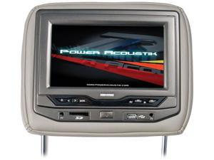 "Power Acoustik Universal Headrest 9"" Monitor with DVD (Beige)"