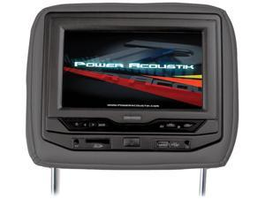 "Power Acoustik Universal Headrest 9"" Monitor with DVD (Black)"