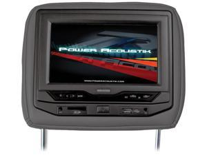 "Power Acoustik Universal Headrest 7"" Monitor with DVD (Black)"