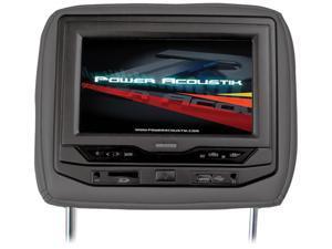 "Power Acoustik Universal Headrest 7"" Monitor with DVD (Black)"