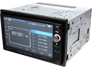 "Power Acoustik 6.5"" 2-Din Multimedia Source Unit w/ Bluetooth V2.0"