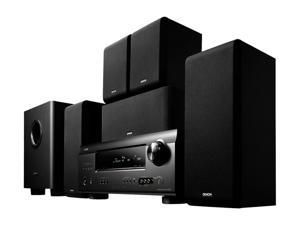 DENON DHT-391XP R 5.1 Channel Home Theater System, Black