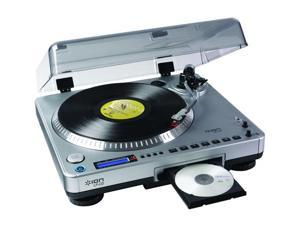 ION LP 2 CD USB Turntable with direct-to-CD recording