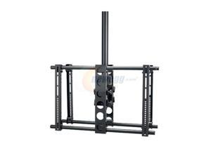"SANUS SYSTEMS LC2A-B1 Black 30"" - 50"" Dual-Sided Ceiling TV Mount"