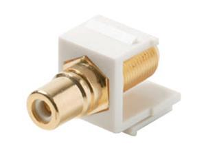 Steren 310-465WH-10 Keystone Modular Insert, White