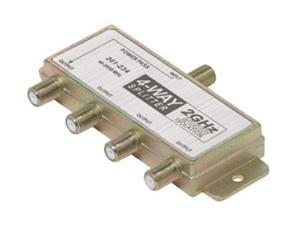 Steren 201-234 4-Way 2.4GHz 90dB Satellite-Splitter